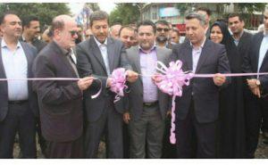 افتتاح سه پروژه عمرانی شهرداری لنگرود با حضور معاون عمرانی وزیر کشور