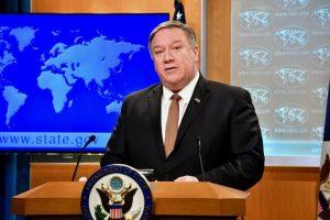 پمپئو: دولت آمریکا فشار بر ایران را ادامه خواهد داد