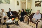 دیدار شهردار و اعضای شورای اسلامی شهر لاهیجان با جانباز مجید داداشی