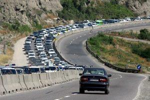 محدودیت ترافیکی آزاد راه منجیل به رودبار