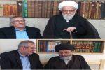 دیدار مجتبی وهابی، مشاور استاندار گیلان با حضرات آیات عظام گرامی قمی و حسینی اشکوری