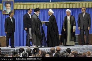 همه تنفیذهای ریاست جمهوری ایران