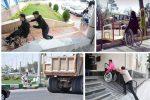 شهر رشت علاوه بر معلولان و نابینایان برای تردد افراد سالم هم ایمن نیست