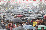 انقلاب اسلامی ۴۰ ساله شد/ حضور از مردم، برف شادی از خدا