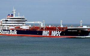 توقیف نفتکش انگلیسی در تنگه هرمز توسط نیروی دریایی سپاه