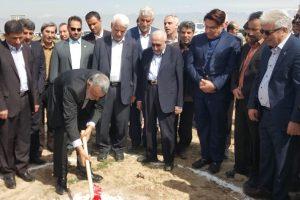 افتتاح و آغاز عملیات اجرایی ۳ طرح کشاورزی استان البرز با حضور وزیر جهاد کشاورزی