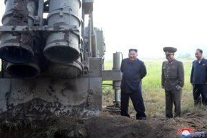 کرهشمالی از آزمایش «یک پرتابگر موشک چندگانه بسیار بزرگ» خبر داد