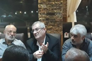 دیدار مجتبی وهابی، مشاور استاندار با آزادگان سرافراز جنگ تحمیلی در بندرانزلی