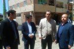 بازدید شهردار رشت از روند اجرایی زیرسازی و روکش آسفالت خیابان امیرکبیرحمیدیان