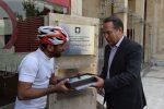 هادی گرجی ورزشکار لاهیجانی به تهران رسید