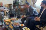 وزیر فرهنگ و ارشاد اسلامی به دیدار سه هنرمند پیشکسوت رفت