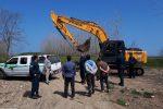 سه هکتار اراضی تالاب انزلی رفع تصرف شد