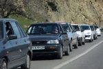 ترافیک محور قزوین – رشت در محدوده رودبار متراکم است