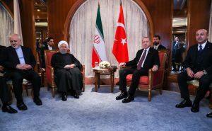 روحانی در دیدار با رییس جمهور ترکیه: تروریسم از مهمترین معضلات منطقه و نیازمند مبارزه همگانی است