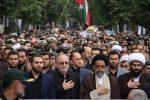 تشییع پیکر پاک  «حسن عشوری» شهید مدافع امنیت با حضور وزیر اطلاعات