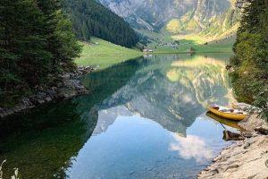 کوه های آلپ در سوییس