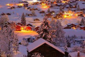 شب های برفی سوئیس