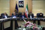 دیدار شهردار و اعضای شورای اسلامی شهر رشت با مجمع نمایندگان گیلان