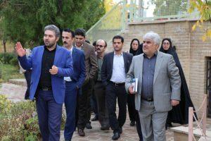 بازدید دوره ای کارشناسان استانداری گیلان از بناهای تاریخی استان زنجان