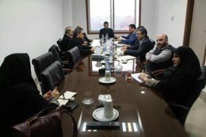 گزارش تصویری جلسه درآمدی مناطق شهرداری رشت